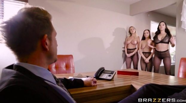 Brazzers - Hoes in Pantyhose with Bill Bailey & Karlee Grey