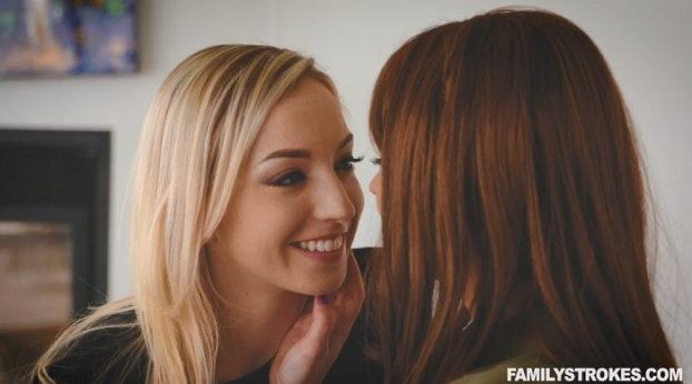 Family Strokes - Mommy Doesn't Mind You Prefer Girls, Sweetie! with Krissy Lynn & Zoe Parker