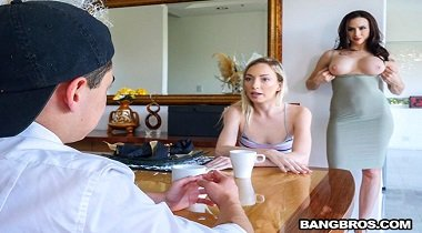 BangBros - BangBros Clips – Mom fucks daughter's BF with Chanel Preston