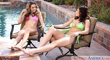 Naughtyamerica – 2 Chicks Same time Leah Gotti , Kimmy Granger & Van Wylde