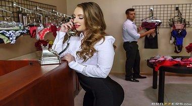 Brazzers - Big Butts Like It Big – Seducing The Shopgirl Harley Jade & Ramon Nomar 380x210