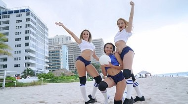 BFFS Volleyballin with Eve Ellewood, Nicolette Love & Sierra Nicole 380x210