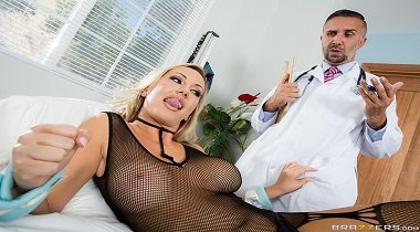 Brazzers - Pornstars Like It Big - The Second Cumming Part 1 Brett Rossi & Keiran Lee 380x210