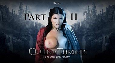 Brazzers ZZ Series - Queen Of Thrones Part 2 (A XXX Parody) Romi Rain & Xander Corvus 380x210