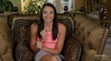 Bang! Confessions - Hairy Teen Avi Love Lands A Job Sucking And Riding Cock At The Theater 380x210