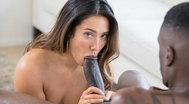 Blacked.com - Porn video Catching Up with Eva Lovia & Jason Brown 380x210