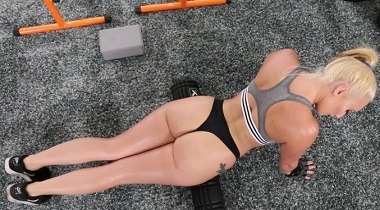 ElegantAngel - Anal workouts keep AJ Applegate in smokin hot shape 380x210