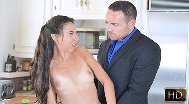 Teamskeet - Getting Fucked Over Spilt Milk with Victoria Vargaz by MyBabysittersClub 380x210