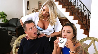 Brazzers Video Massaged By Her Mother with Katie Morgan & Justin Hunt 380x210