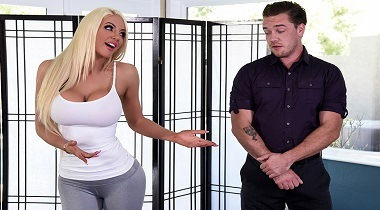 Brazzers hd - What's This Hole For by Nicolette Shea & Kyle Mason - Dirty Masseur 380x210