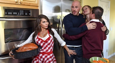 Brazzers.com - Thankful For with Madison Madison Ivy & Johnny Sins - Pornstars Like It Big 380x210