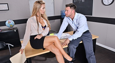 Naughtyamerica HD - My First Sex Teacher Nicole Aniston & Seth Gamble 380x210