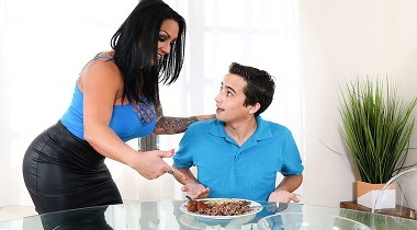 Naughtyamerica - My Friend's Hot Mom Ashton Blake & Ricky Spanish 380x210