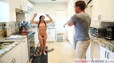 Naughtyamerica - My Friend's Hot Girl Annika Eve & Kyle Mason 380x210