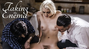 Puretaboo - Taking The Enema with Chloe Cherry ,Seth Gamble & Tommy Pistol 380x210