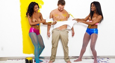 Realitykings.com - Colorful Coochies with Mya Mays, Nia Nacci, Van Wylde - Round and Brown 380x210
