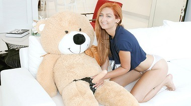 Teamskeet.com - Immature Spinner Caught Fucking A Teddy Bear by Kadence Marie - Exxxtrasmall 380x210