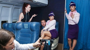 Realitykings - Fly Me To The Poon with Chad White & Nikki Knightly - Sneaky Sex 380x210