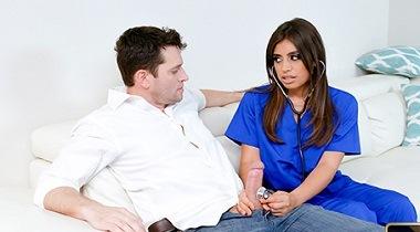 Teamskeet - Nursing Her Tits with Ella Knox - TittyAttack 380x210