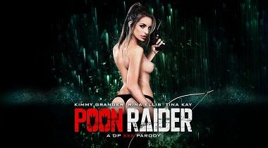 Digitalplayground hd - Poon Raider A DP XXX Parody with Kimmy Granger & Ryan Ryder 380x210