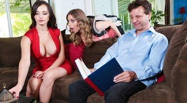 Realitykings xxx - Stepmother Seduction by Anya Olsen & Lexi Luna - Moms Lick Teens 380x210