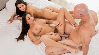 Vixen - Our First Celebrity Hook-Up with Karlee Grey, Sofi Ryan & Johnny Sins 380x210